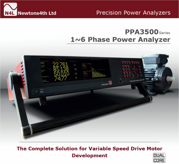 Newtons4th new 6-Phase Power Analyzer
